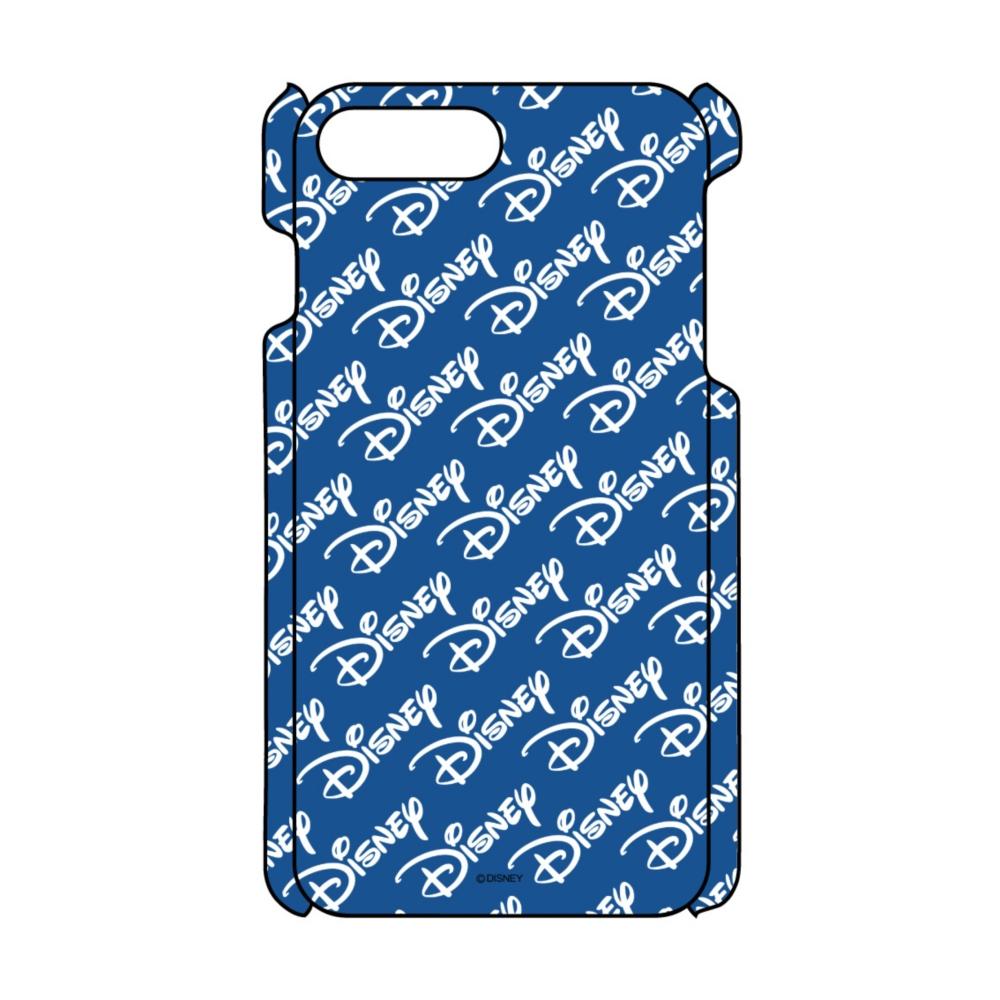 【D-Made】iPhoneケース 総柄 Disney ロゴ