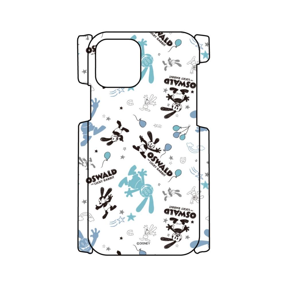 【D-Made】iPhoneケース 総柄 オズワルド・ザ・ラッキー・ラビット