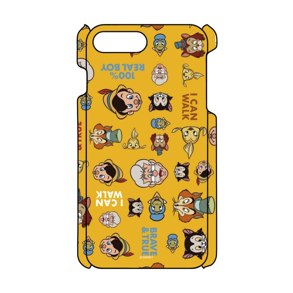 【D-Made】iPhoneケース 総柄 ピノキオ 集合