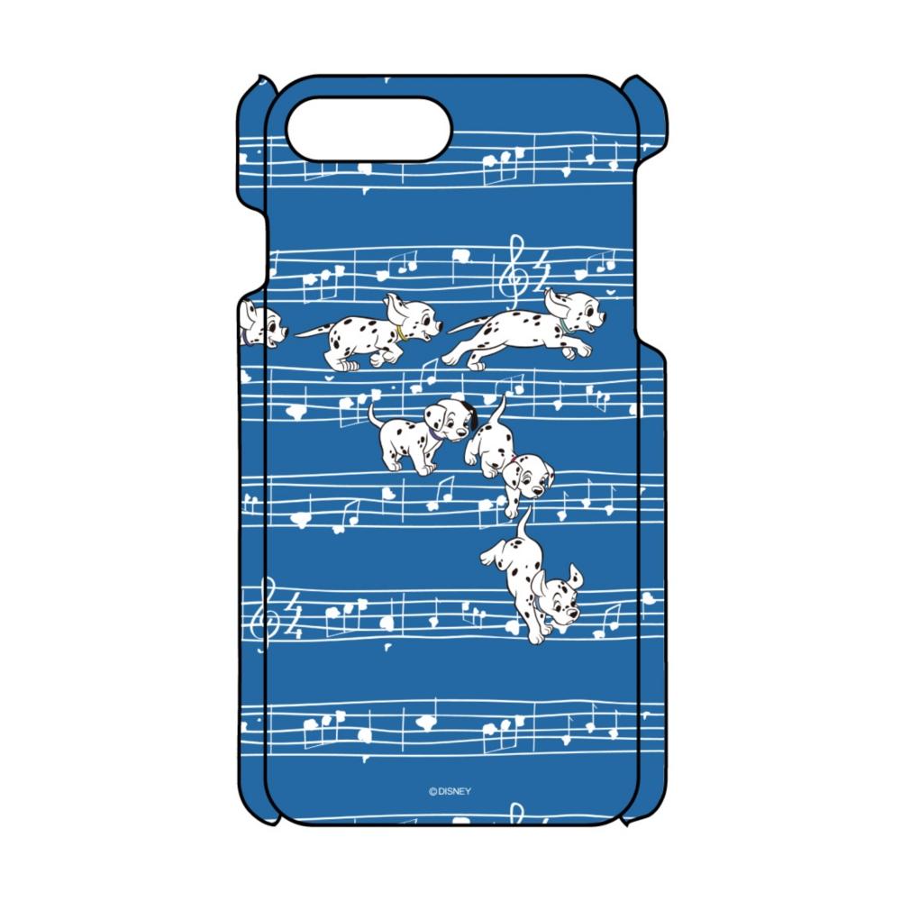 【D-Made】iPhoneケース 総柄 101匹わんちゃん 楽譜