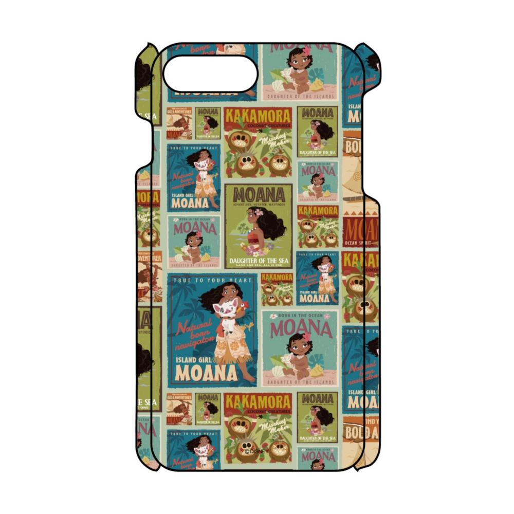 【D-Made】iPhoneケース 総柄 モアナと伝説の海 モアナ ポスター