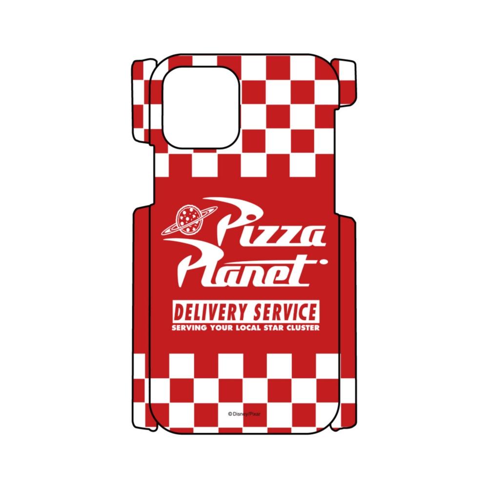 【D-Made】iPhoneケース 総柄 トイ・ストーリー ピザ・プラネット