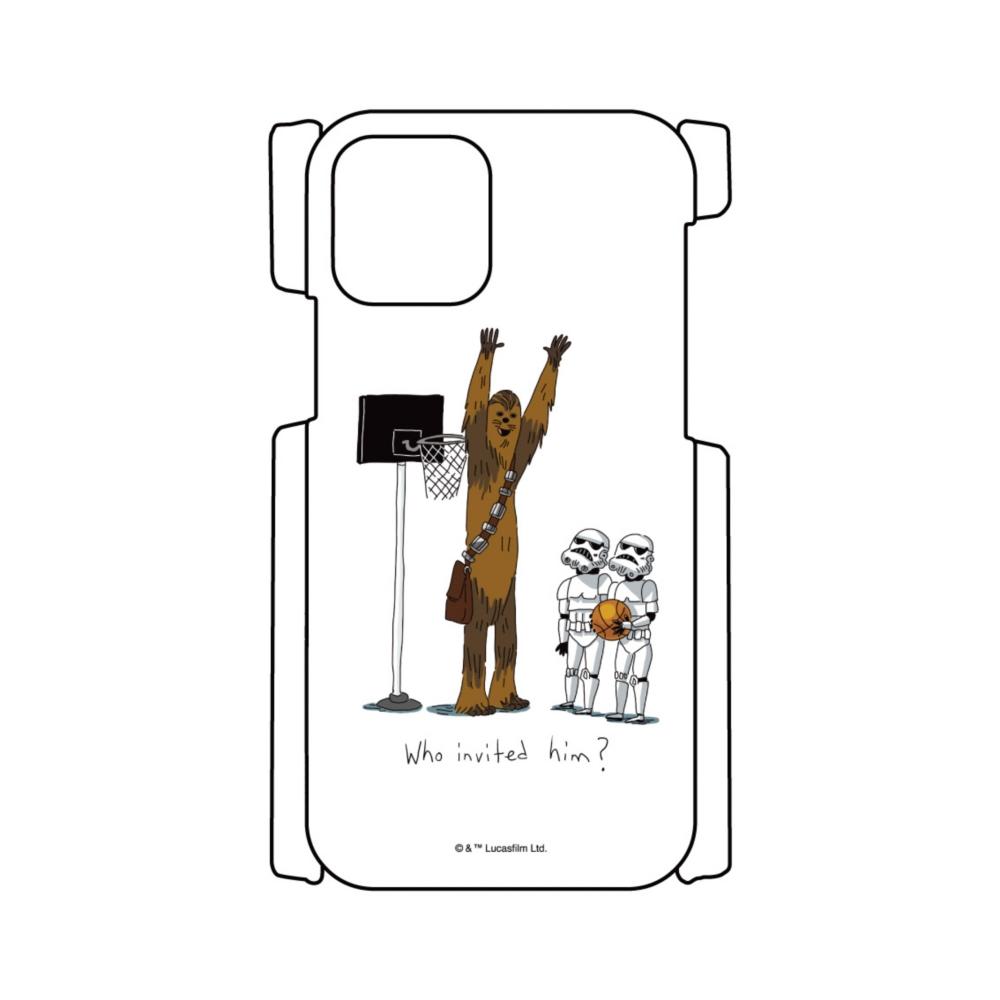 【D-Made】iPhoneケース スター・ウォーズ チューバッカ&ストームトルーパー バスケットボール