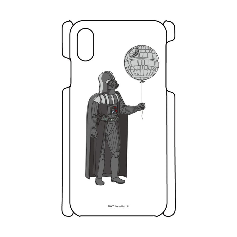 【D-Made】iPhoneケース スター・ウォーズ ダース・ベイダー デス・スター 風船