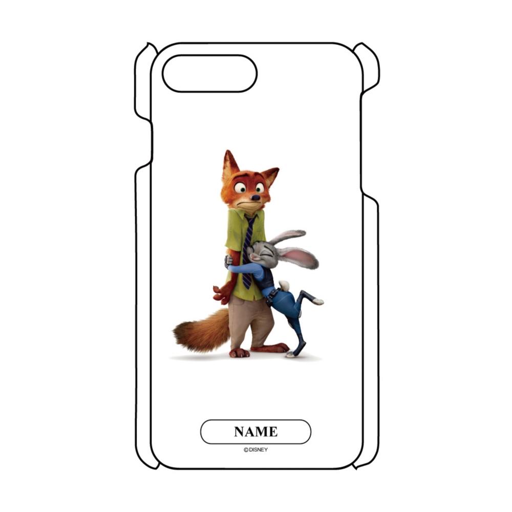 【D-Made】名入れ iPhoneケース ズートピア ジュディ・ホップス&ニック・ワイルド