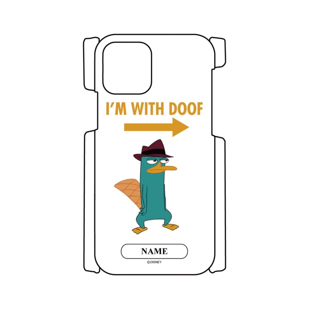 【D-Made】名入れ iPhoneケース フィニアスとファーブ ペリー