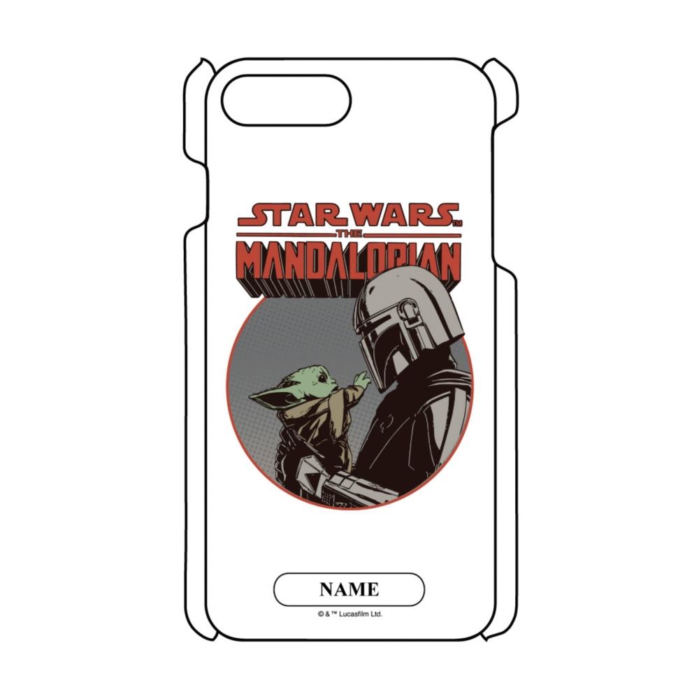 【D-Made】名入れ iPhoneケース マンダロリアン シーズン2 マンダロリアン&グローグー