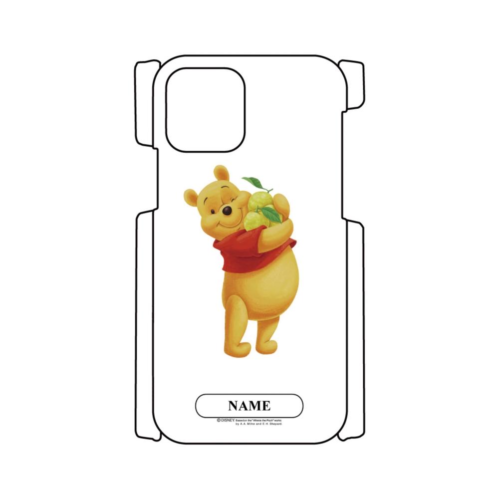 【D-Made】名入れ iPhoneケース ゆず くまのプーさん