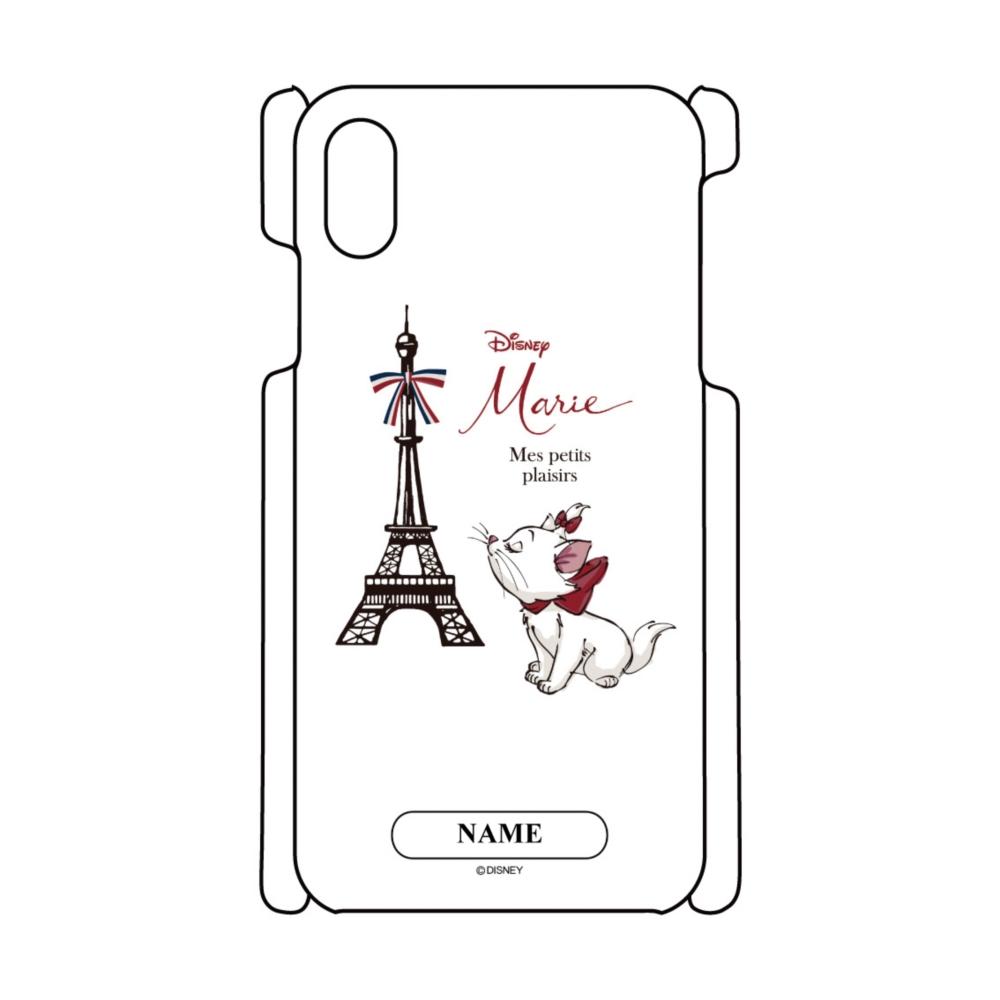 【D-Made】名入れ iPhoneケース おしゃれキャット マリー Mes petits plaisirs THE ARISTOCATS
