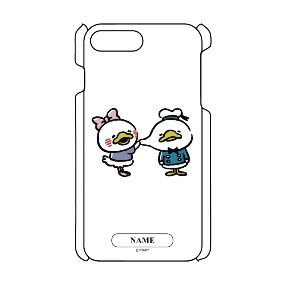 【D-Made】名入れ iPhoneケース うごく!カナヘイ画♪ミッキー&フレンズ ドナルド&デイジー