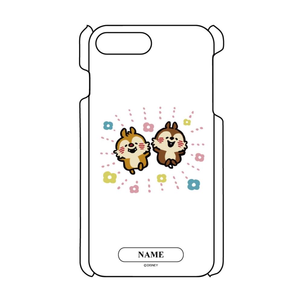 【D-Made】名入れ iPhoneケース うごく!カナヘイ画♪ミッキー&フレンズ チップ&デール