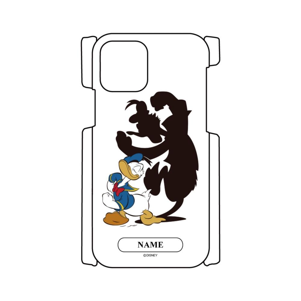 【D-Made】名入れ iPhoneケース ドナルド 影
