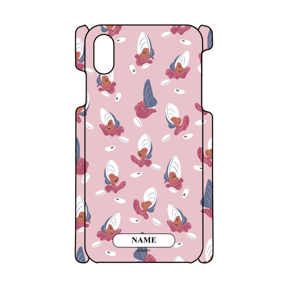 【D-Made】名入れ iPhoneケース 総柄 ふしぎの国のアリス ヤングオイスター