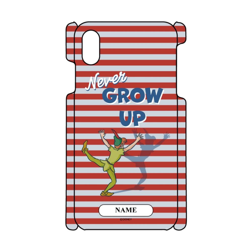 【D-Made】名入れ iPhoneケース ピーター・パン 影 Never GROW UP