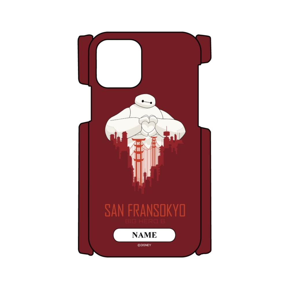 【D-Made】名入れ iPhoneケース ベイマックス SAN FRANSOKYO