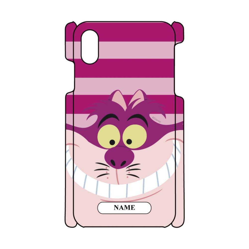【D-Made】名入れ iPhoneケース ふしぎの国のアリス チェシャ猫 Face