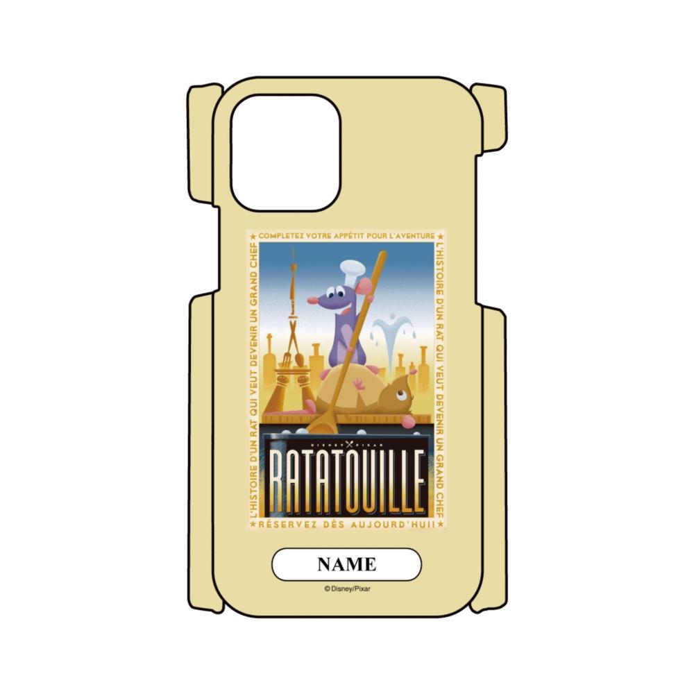 【D-Made】名入れ iPhoneケース レミーのおいしいレストラン レミー&エミール ポスター
