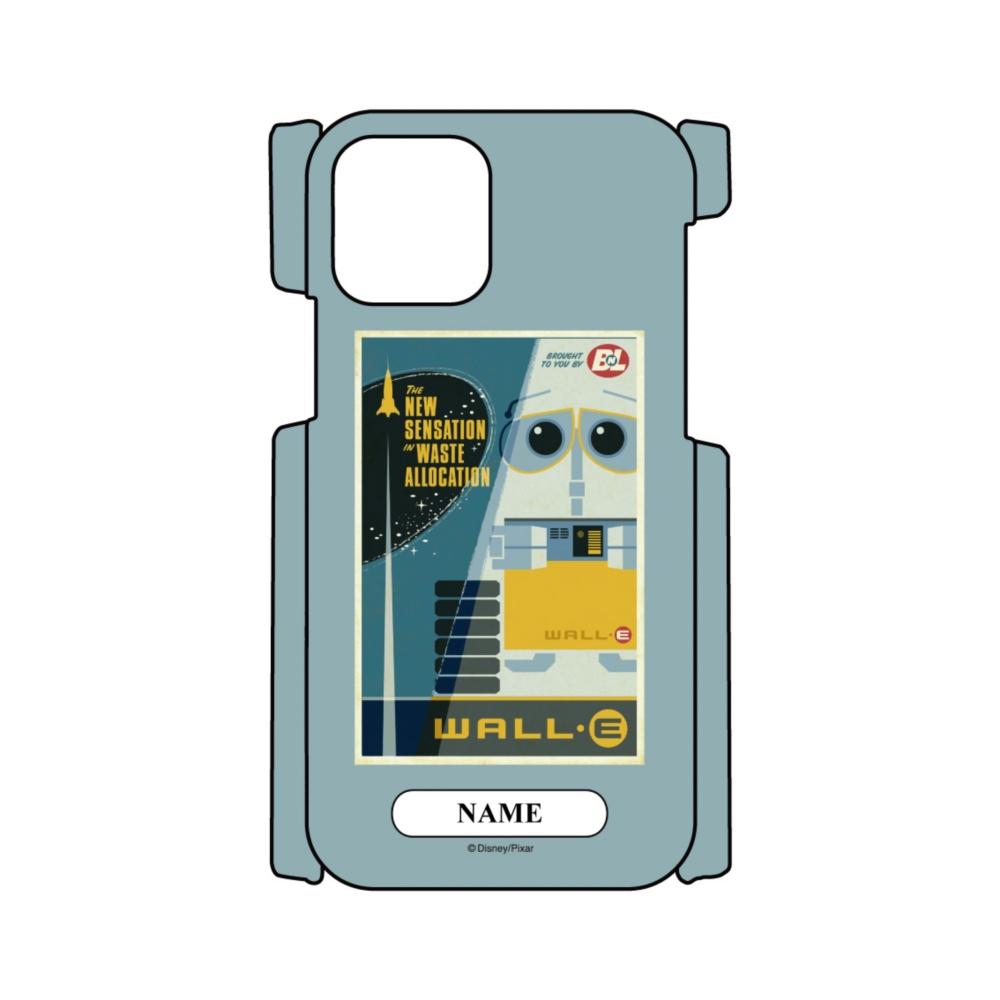【D-Made】名入れ iPhoneケース ウォーリー ポスター