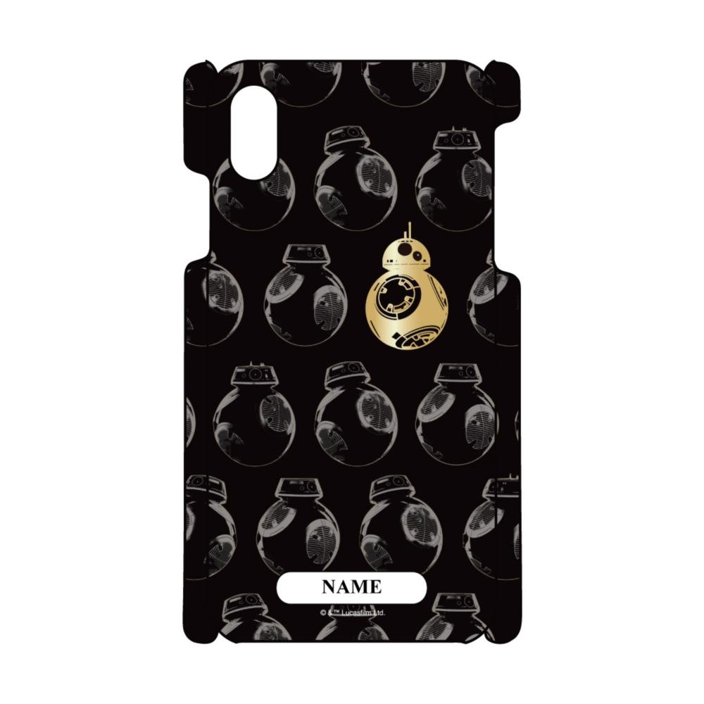 【D-Made】名入れ iPhoneケース 総柄 スター・ウォーズ/最後のジェダイ BB-8&BB-9E