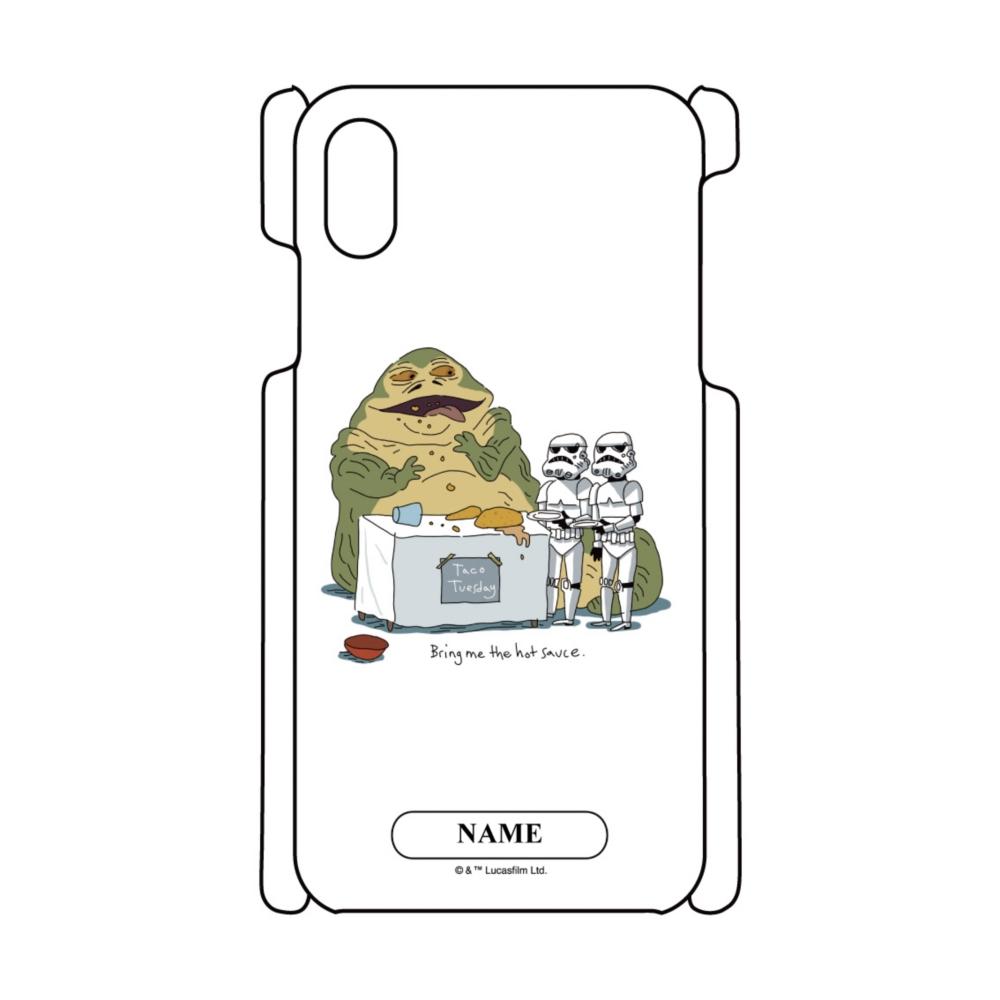 【D-Made】名入れ iPhoneケース スター・ウォーズ ジャバ・ザ・ハット&ストームトルーパー