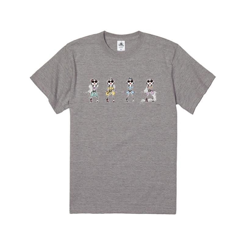 【D-Made】Tシャツ グリーン&イエロー&ブルー&パープル Daichi Miura Princess