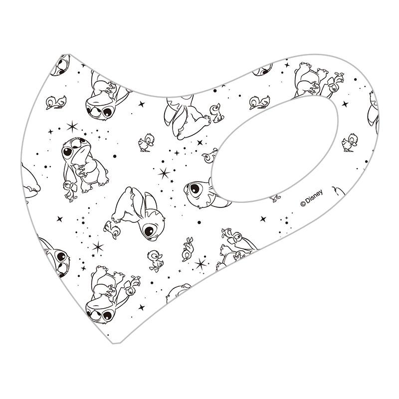 【D-Made】マスク 総柄 リロ&スティッチ Stitch's OHANA