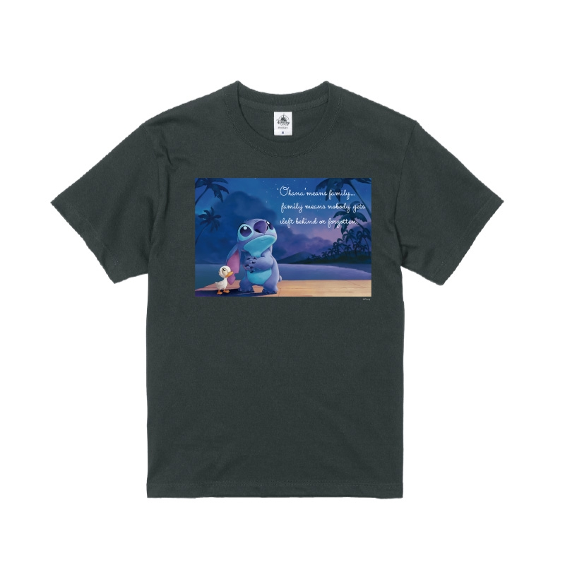 【D-Made】Tシャツ リロ&スティッチ スティッチ&アヒル 願い事 Stitch's OHANA