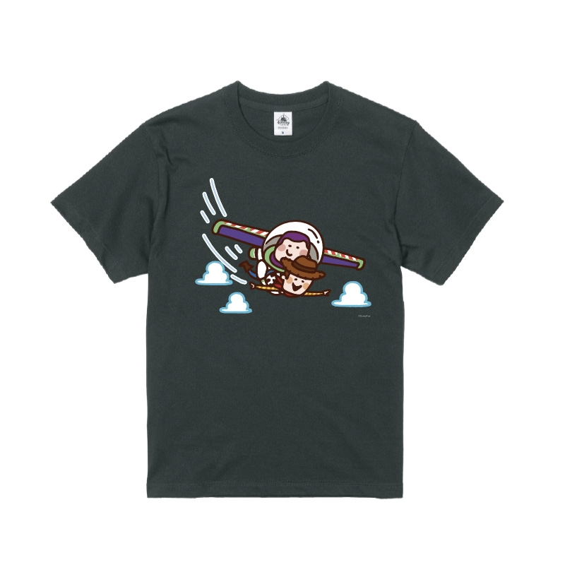 【D-Made】Tシャツ カナヘイ画♪WE LOVE PIXAR バズ・ライトイヤー &ウッディ