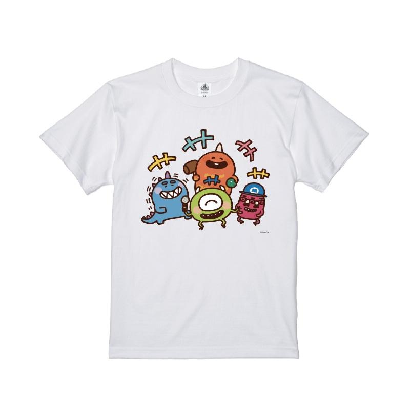【D-Made】Tシャツ カナヘイ画♪WE LOVE PIXAR マイク&バイル&ジョージ&ファンガス