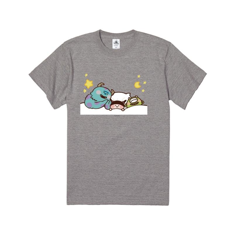 【D-Made】Tシャツ カナヘイ画♪WE LOVE PIXAR サリー&マイク&ブー