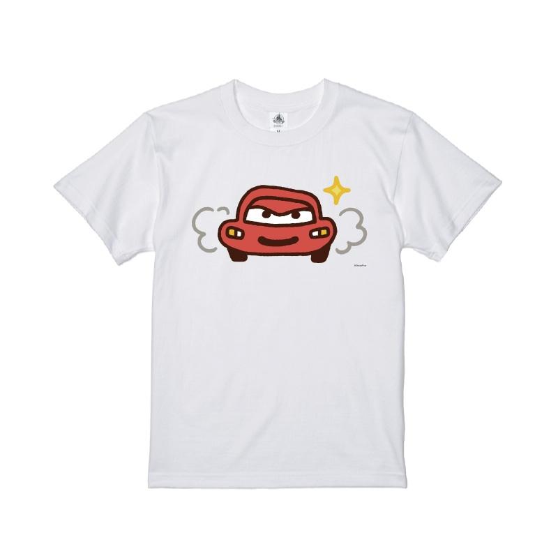【D-Made】Tシャツ カナヘイ画♪WE LOVE PIXAR ライトニング・マックィーン