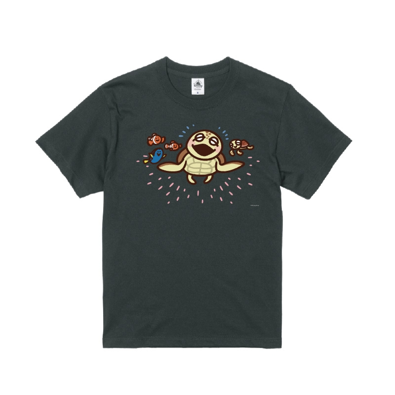 【D-Made】Tシャツ カナヘイ画♪WE LOVE PIXAR クラッシュ&スクワート&ニモ&ドリー&マーリン