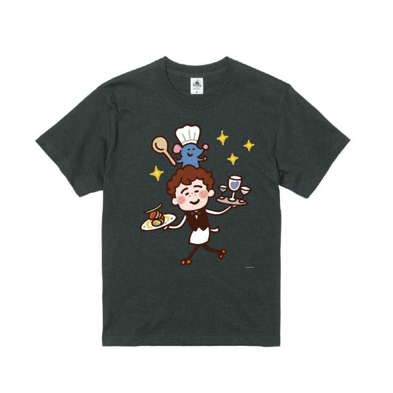 【D-Made】Tシャツ カナヘイ画♪WE LOVE PIXAR レミー&アルフレッド・リングイニ