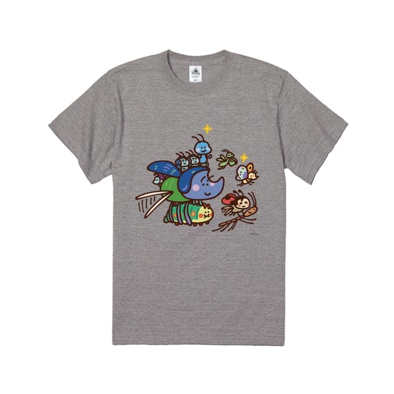 【D-Made】Tシャツ カナヘイ画♪WE LOVE PIXAR バグズ・ライフ 集合