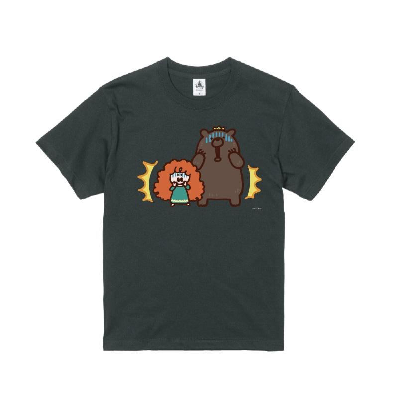 【D-Made】Tシャツ カナヘイ画♪WE LOVE PIXAR メリダ&エリノア