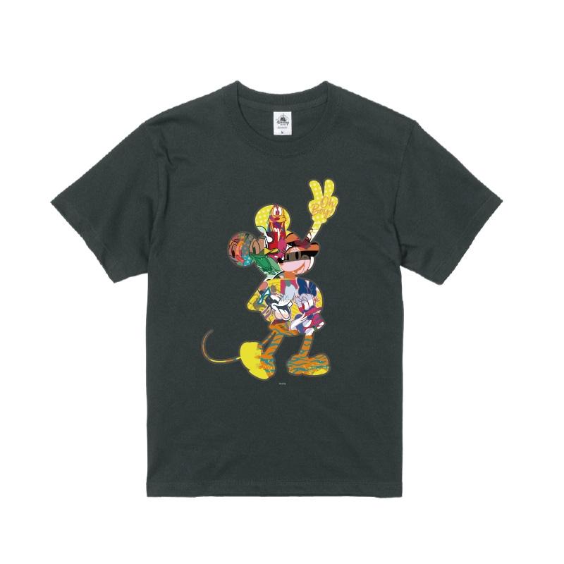 【D-Made】Tシャツ ミッキー&フレンズ ミッキー シルエット フレンドシップデー