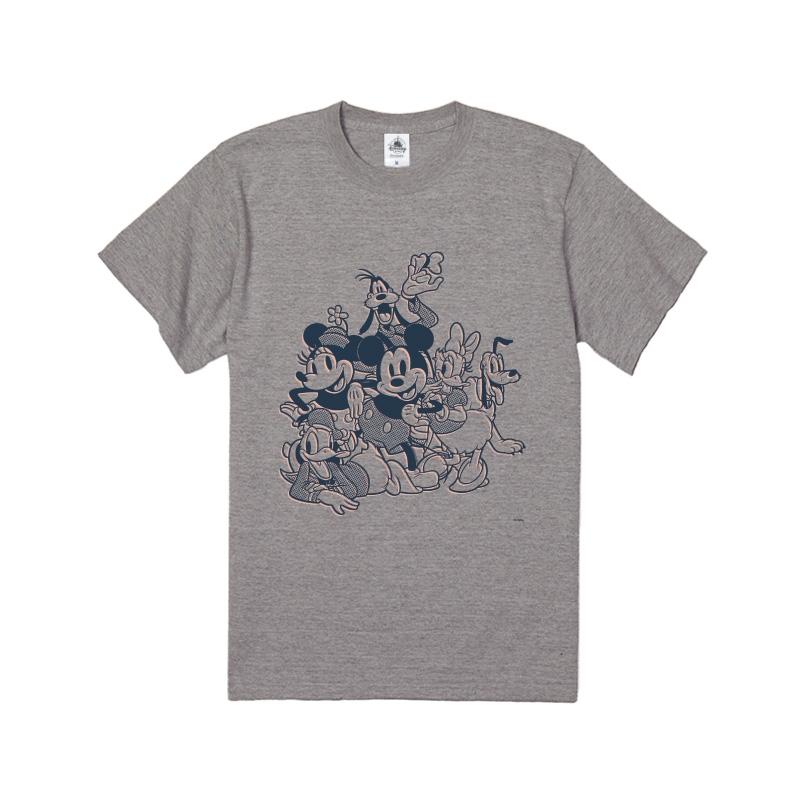 【D-Made】Tシャツ ミッキー&フレンズ 集合 コミック フレンドシップデー