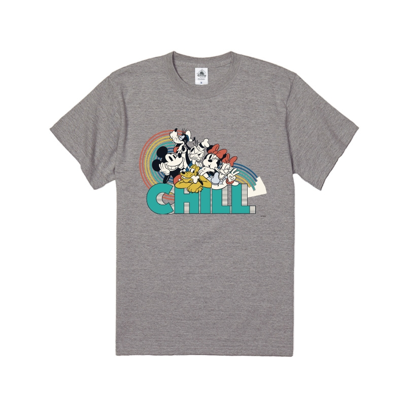 【D-Made】Tシャツ ミッキー&フレンズ 集合 CHILL フレンドシップデー