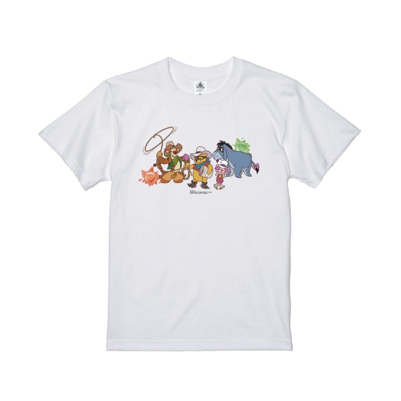 【D-Made】Tシャツ くまのプーさん 集合 Western Pooh
