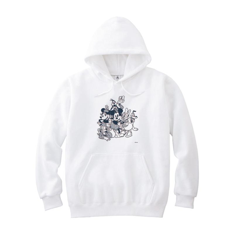 【D-Made】パーカー ミッキー&フレンズ 集合 コミック フレンドシップデー
