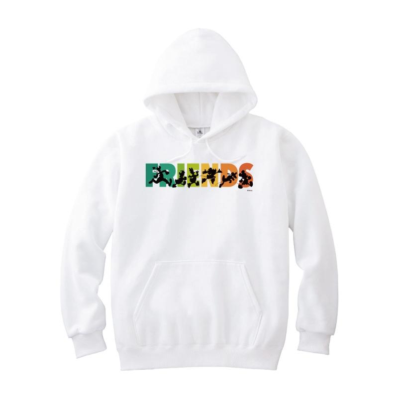 【D-Made】パーカー ミッキー&フレンズ FRIENDSライン フレンドシップデー