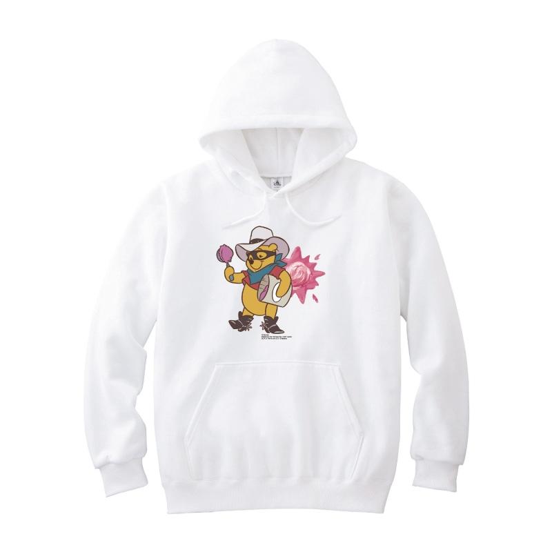【D-Made】パーカー くまのプーさん プーさん Western Pooh