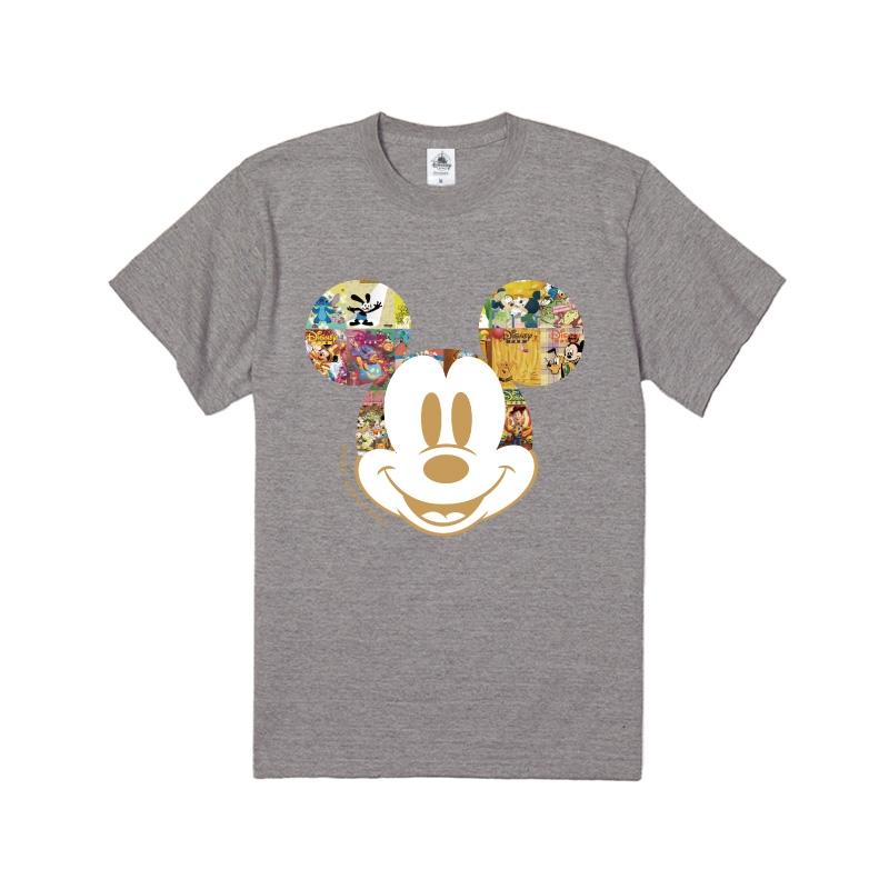 【D-Made】Tシャツ ミッキー フェイス Disney FAN 30th anniversary