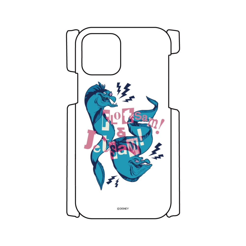 【D-Made】iPhoneケース リトル・マーメイド フロットサム&ジェットサム ヴィランズ