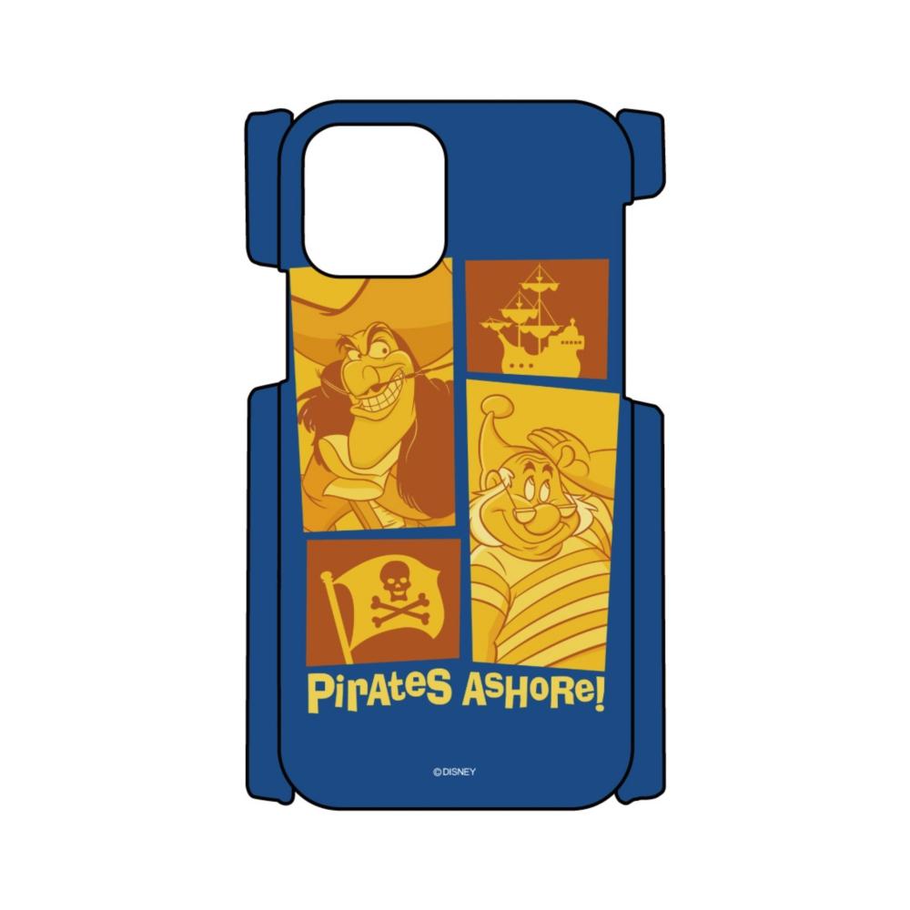 【D-Made】iPhoneケース ピーター・パン フック船長&スミー Pirates AsHoRe! ヴィランズ