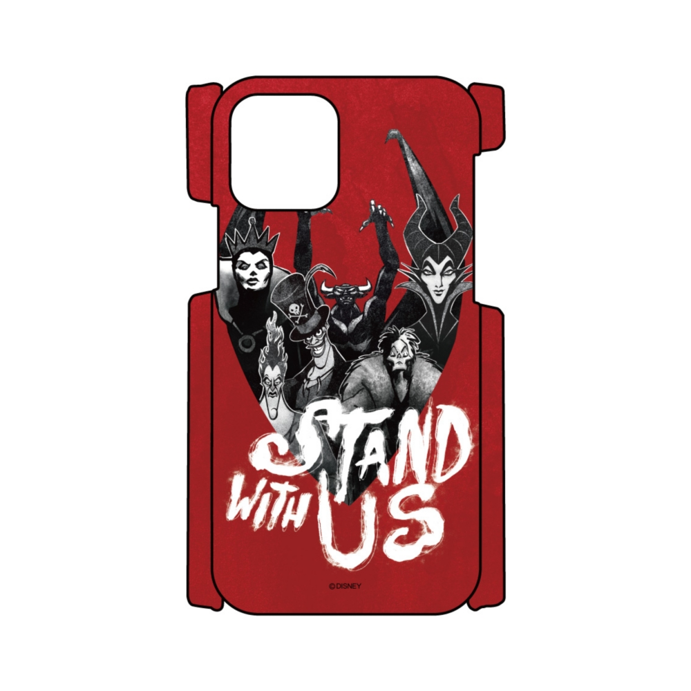 【D-Made】iPhoneケース ヴィランズ 集合 STAND WITH US
