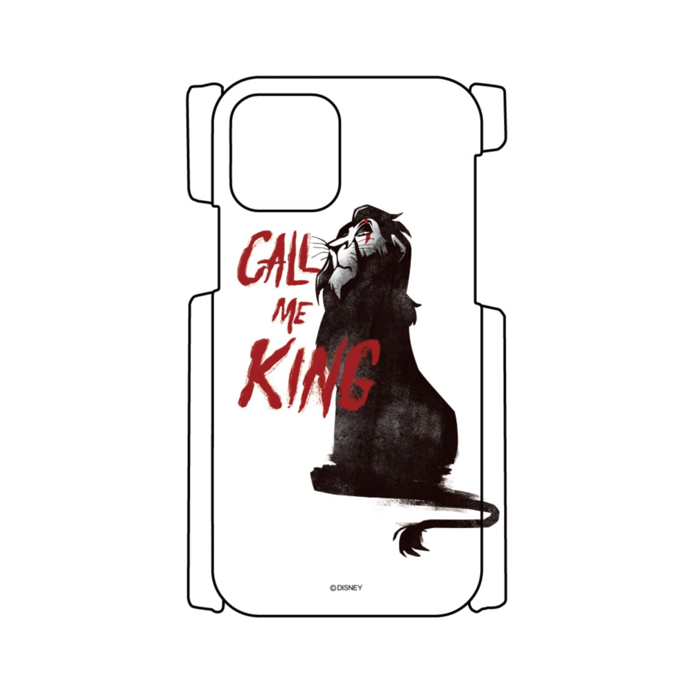 【D-Made】iPhoneケース ライオン・キング スカー CALL ME KING ヴィランズ