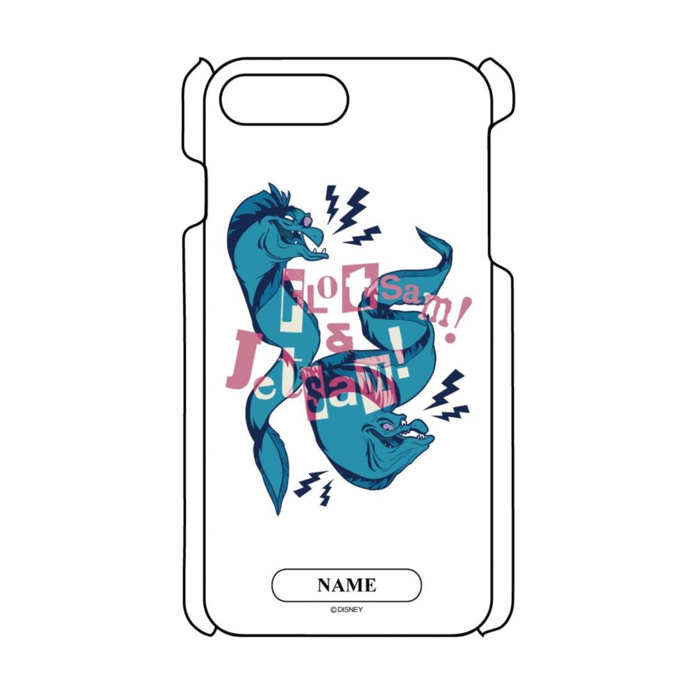 【D-Made】名入れ iPhoneケース リトル・マーメイド フロットサム&ジェットサム ヴィランズ