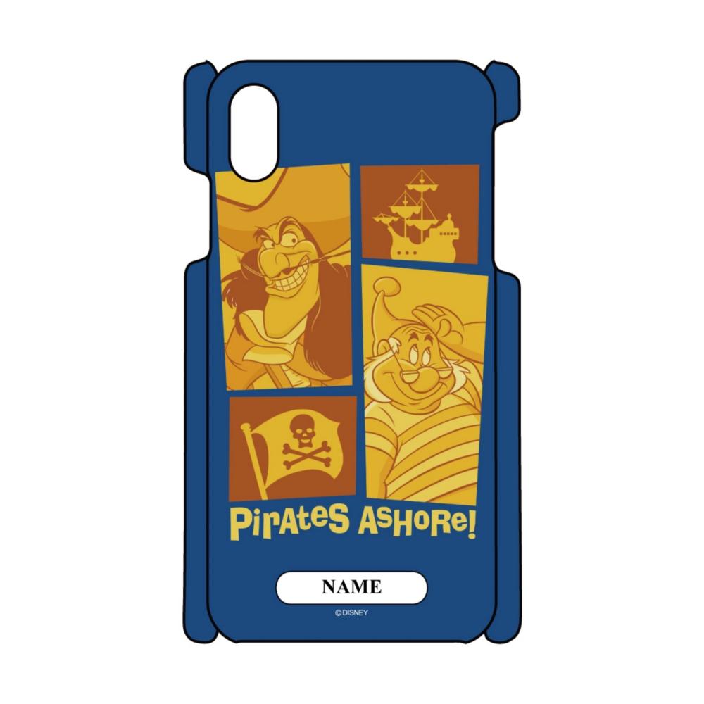 【D-Made】名入れ iPhoneケース ピーター・パン フック船長&スミー Pirates AsHoRe! ヴィランズ