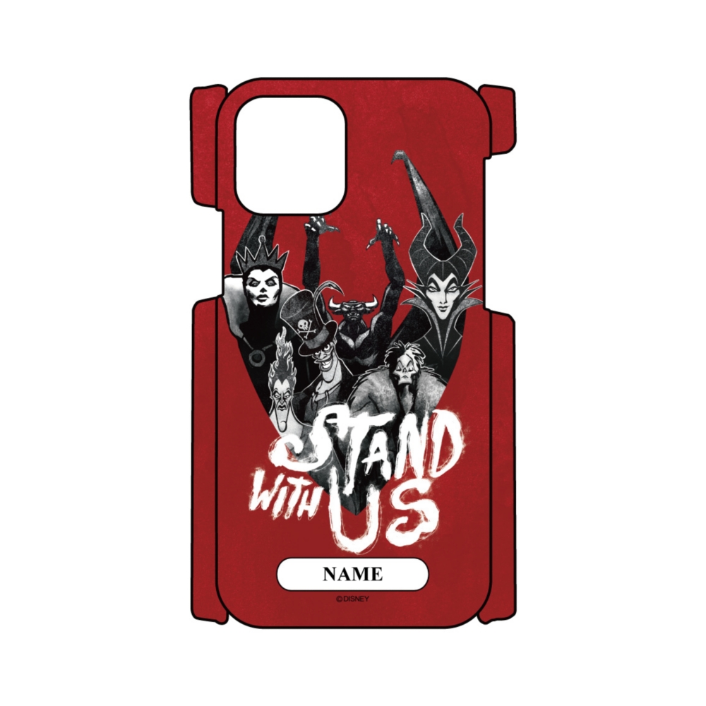 【D-Made】名入れ iPhoneケース ヴィランズ 集合 STAND WITH US